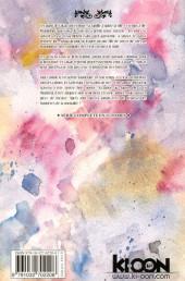 Verso de Les fleurs du Mal -8- Tome 8