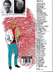 Verso de Ric Hochet -68- Le collectionneur de crimes