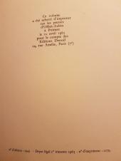 Verso de (AUT) Sempé -4- Monsieur lambert