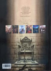 Verso de Le trône d'Argile -4a15- la mort des rois