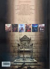 Verso de Le trône d'Argile -5a2015- La pucelle