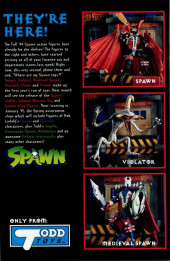 Verso de Spawn (1992) -26- Appearing in the 1st Story