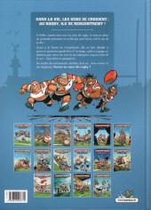 Verso de Les rugbymen -16- Le rugby, c'est un sport de compact !