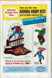 Verso de Sgt. Fury and his Howling Commandos (Marvel - 1963) -39-
