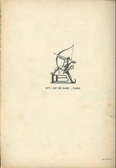 Verso de Petit-Riquet reporter -56- Les forbans des grands bois