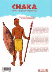 Verso de Chaka (Chason/N'Guessan) - Chaka, d'après l'œuvre de Thomas Mofolo