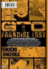 Verso de GTO - Paradise Lost -9- Vol. 9