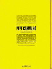 Verso de Pepe Carvalho -1- Tatouage