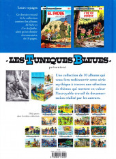 Verso de Les tuniques Bleues présentent -10- Leurs voyages