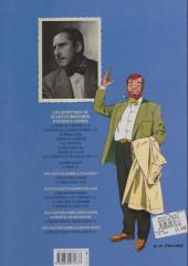 Verso de Blake et Mortimer (Les Aventures de) -3d2013- Le Secret de l'Espadon - Tome 3