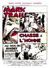 Verso de Mark Trail -5- Les pirates de la rivière rouge