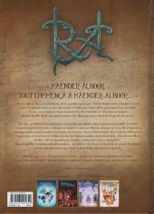 Verso de Reflets d'Acide -8- De Charybde en Traävia...