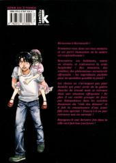 Verso de Scary town -3- Volume 3