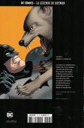 Verso de DC Comics - La légende de Batman -136- Batman et le moine fou