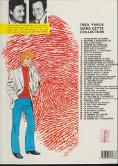 Verso de Ric Hochet -40a1985- Le double qui tue