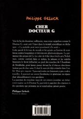 Verso de Le docteur G -3- Cher Docteur G