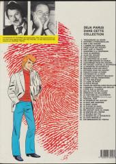 Verso de Ric Hochet -25b1986- Coups de griffes chez bouglione
