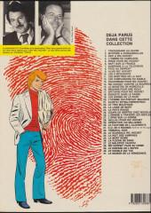 Verso de Ric Hochet -17c1985- Epitaphe pour Ric Hochet