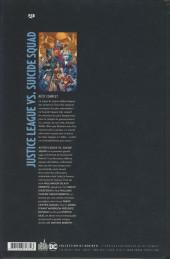 Verso de Justice League vs. Suicide Squad