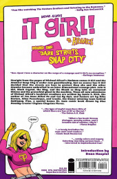 Verso de It Girl! and The Atomics -INT01- Round 1: Dark Streets, Snap City