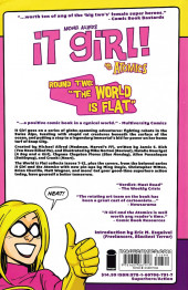 Verso de It Girl! and The Atomics -INT2- Round 2: The World is Flat
