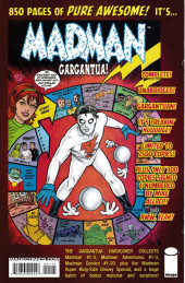 Verso de Madman Atomic Comics (2007) -1- Jumping Silent Cars That Sleep at Traffic Lights