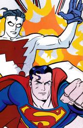 Verso de Superman/Madman: Hullabaloo (1997) -1- Man and Super-Madman!
