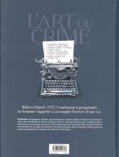 Verso de L'art du crime -7- La Mélodie d'Ostelinda