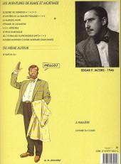Verso de Blake et Mortimer (Les Aventures de) -3b1991- Le Secret de l'Espadon - Tome 3