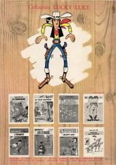 Verso de Lucky Luke -1b1969- La mine d'or de Dick Digger