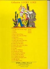 Verso de Lucky Luke -11a64- Lucky Luke contre Joss Jamon