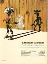 Verso de Lucky Luke -50- Sarah Bernhardt