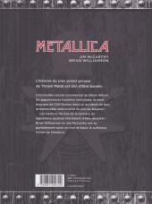 Verso de Metallica