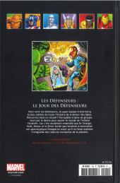 Verso de Marvel Comics - La collection (Hachette) -104XX- Les Défenseurs - Le Jour des Défenseurs