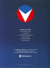 Verso de Michel Vaillant - Nouvelle saison -5pub- Renaissance