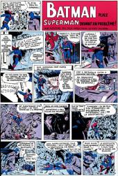 Verso de Superman l'homme d'acier puis Superman et Batman (1re Série Interpresse) -7- Superman et Batman hors-la-loi !