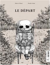 Verso de La mère et la mort / Le départ