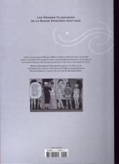 Verso de Les grands Classiques de la Bande Dessinée érotique - La Collection -4870- Dodo Chronique d'une maison close - tome 1