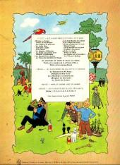 Verso de Tintin (Historique) -13B39- Les 7 boules de cristal
