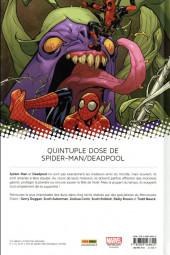 Verso de Spider-Man/Deadpool -2- Chaos sur la convention