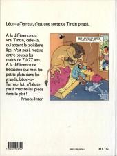 Verso de Léon-la-terreur (Léon Van Oukel) -1- Léon-la-terreur