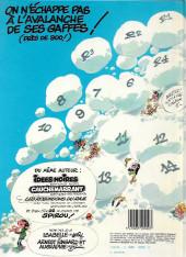 Verso de Gaston -11c1985- Gaffes, bévues et boulettes