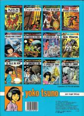 Verso de Yoko Tsuno -9a83- La fille du vent
