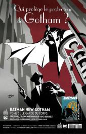 Verso de Batman Rebirth (DC Presse) -9- Tome 9