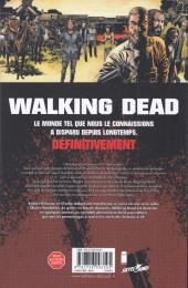 Verso de Walking Dead -29- La ligne blanche
