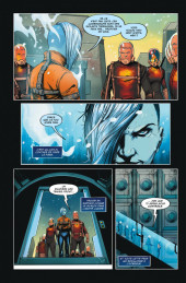 Verso de Justice League vs. Suicide Squad - Tome TL