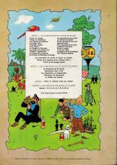 Verso de Tintin (Historique) -16B36bis- Objectif lune