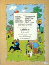 Verso de Tintin (Historique) -18b35bis- L'affaire Tournesol