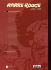 Verso de Barbe-Rouge (Eaglemoss) -1- Le démon des Caraïbes