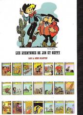 Verso de Jim L'astucieux (Les aventures de) - Jim Aydumien -21- Le clairon